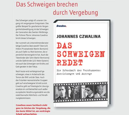 Das Schweigen redet. Sachbuch von Johannes Czwalina